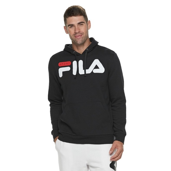 cf2a1633a5806 Fila Shirts | Nwt Sports Fleece Pull Up Hoodies | Poshmark